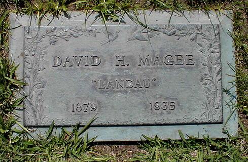 David Landau gravestone