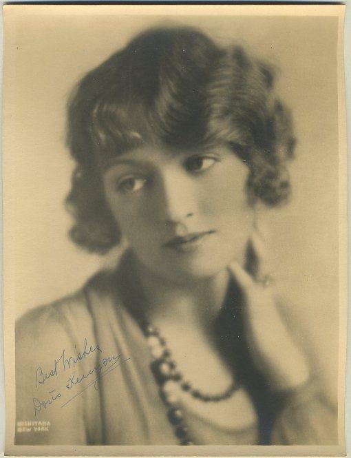 Doris Kenyon 1920s 8x10 Fan Photo