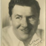 George Bancroft 1920s Fan Photo
