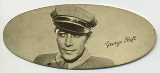 George Raft 1934 Carreras Tobacco Card