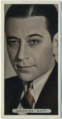 George Raft 1936 Ardath Tobacco Card