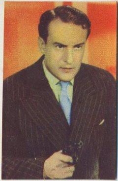 George Sanders 1951 Artisti del Cinema Trading Card