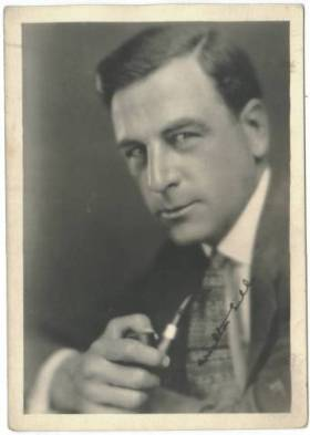 Milton Sills 1920s 5x7 Fan Photo