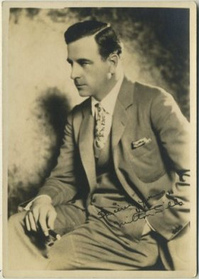 Milton Sills 1920s 5x7 Fan Photo