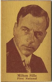 Milton Sills 1920s Strip Card