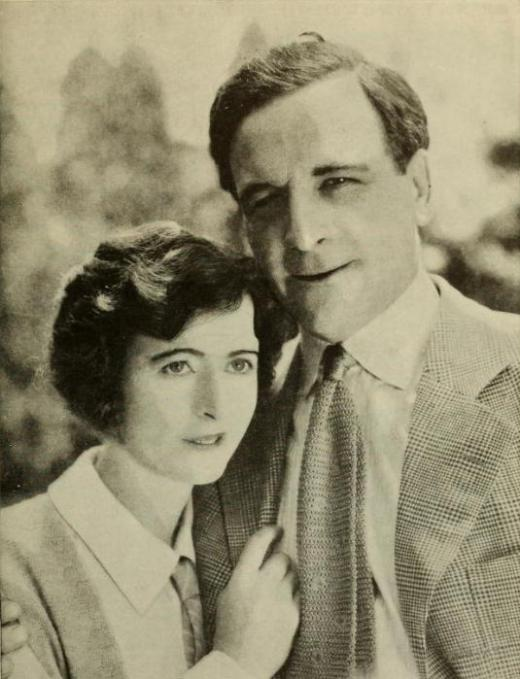 Milton Sills and wife Gladys