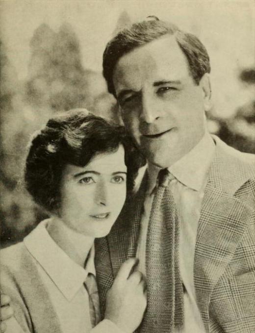 Milton Sills and wife Gladys