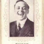 Wally Van on a circa 1915 trading card of anonymous issue
