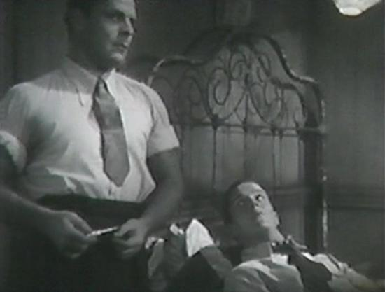 Brian Donlevy and Alan Baxter