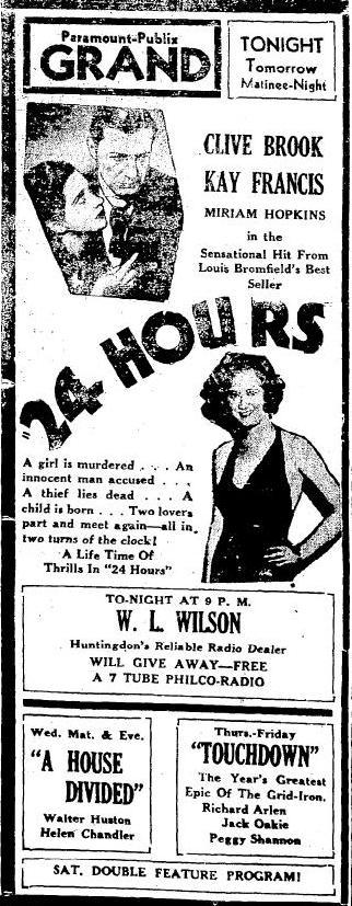 Huntingdon Daily News, December 21, 1931, page 3