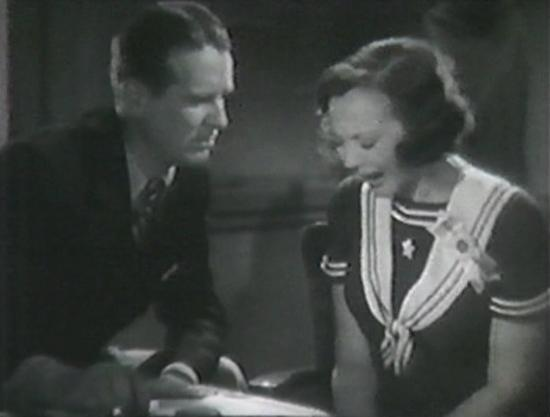 Wallace Ford and Sylvia Sidney