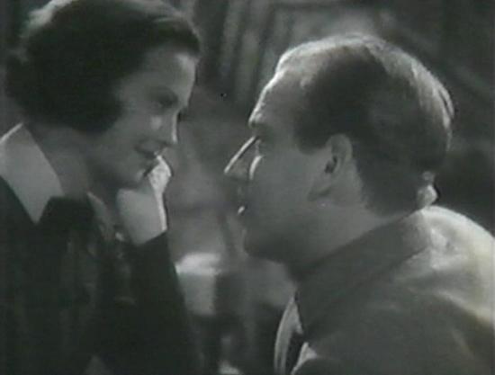 Sylvia Sidney and Melvyn Douglas