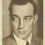 Buster Keaton 1930s Aguila Trading Card