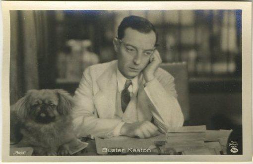 Buster Keaton 1930s A Batschari German Tobacco Card