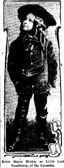From the Washington Post, July 16, 1911, page 43