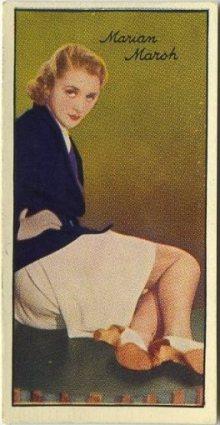 Marian Marsh 1935 Carreras Film Stars Tobacco Card
