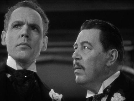 Henry Hull and Warner Oland in Werewolf of London (1935)
