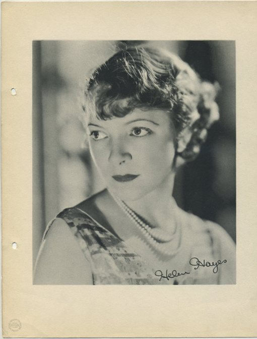 Helen Hayes 1933 Dixie Premium Photo