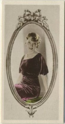 Helen Hayes 1934 Godfrey Phillips Tobacco Card