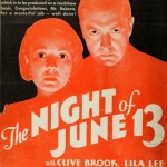 Paramount's The Night of June 13th (1932), Street Scene of the Suburbs