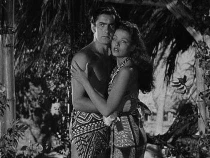 Tyrone Power and Gene Tierney in Son of Fury (1942)