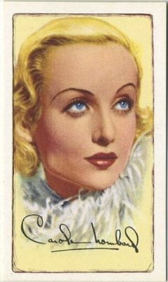 Carole Lombard 1935 Gallaher Tobacco Card