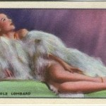 Carole Lombard 1940 Godfrey Phillips tobacco card