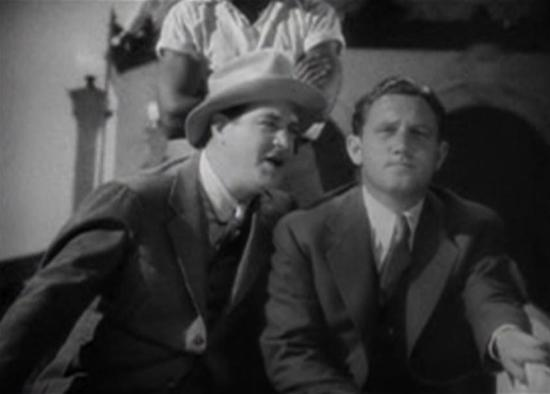 Alan Dinehart with Spencer Tracy in Dante's Inferno (1935)