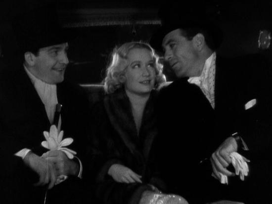 Fredric March, Miriam Hopkins and Gary Cooper