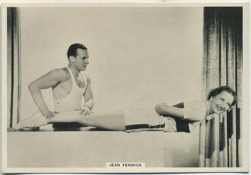 Jean Fenwick 1938 BAT Modern Beauties Tobacco Card