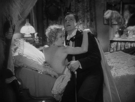 Miriam Hopkins and Fredric March