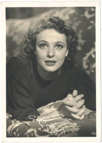 Laraine Day 1940s 5x7 Fan Photo