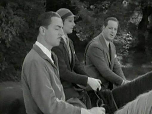 William Powell, Helen Vinson and Alan Dinehart in Lawyer Man