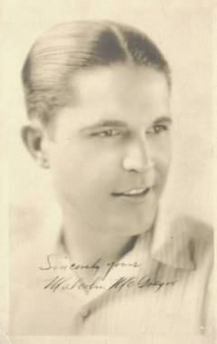 Malcolm McGregor 1920s 5x7 Fan Photo