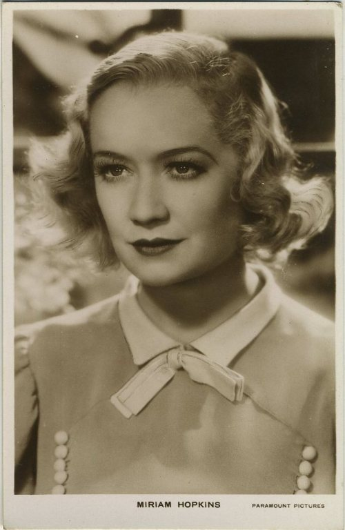 Miriam Hopkins Early 1930s Real Photo Postcard