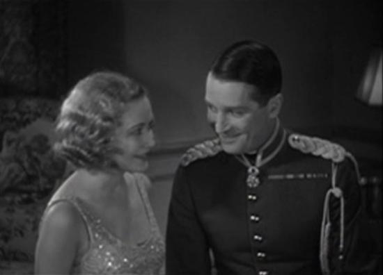 Miriam Hopkins and Maurice Chevalier