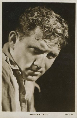 Spencer Tracy Early 1930s Fox Films Postcard