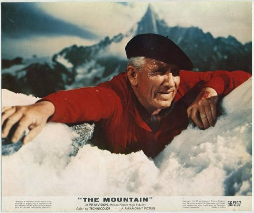 Spencer Tracy in The Mountain (1956)