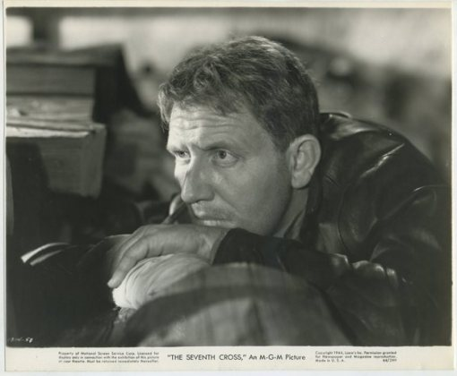 Spencer Tracy in The Seventh Cross (1944)
