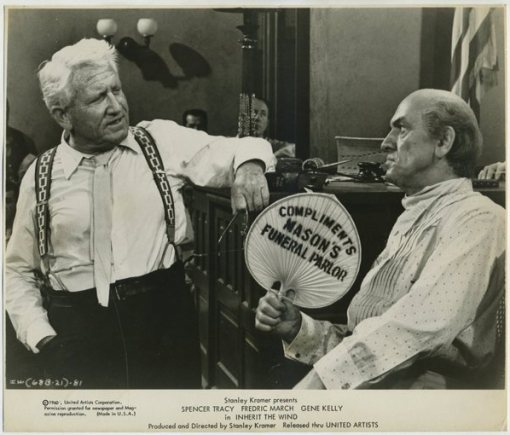 Spencer Tracy and Fredric March Still Photo