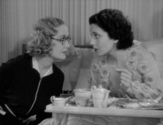 Miriam Hopkins and Kay Francis