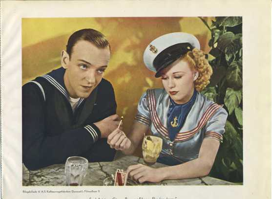 Fred Astaire and Ginger Rogers Danmarks Insert