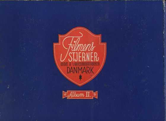 Back cover of Danmarks Film-Serie II Album