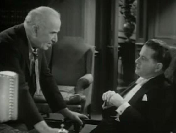 Frank Sheridan and Alan Dinehart