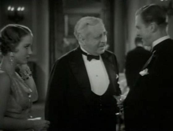 Constance Cummings, Walter Connolly and Lee Tracy