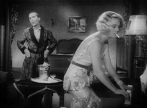 Ralf Harolde and Dorothy Mackaill
