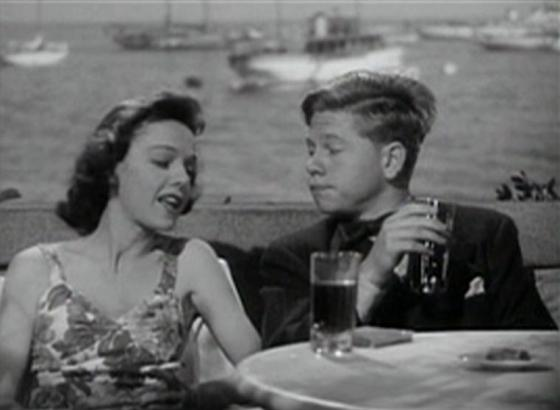Eleanor Lynn and Mickey Rooney