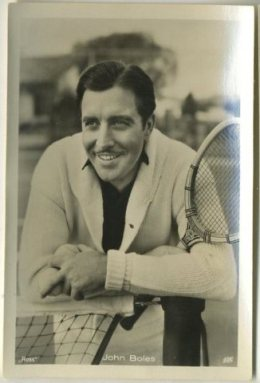 John Boles 1930s Haus Bergmann German Tobacco Card