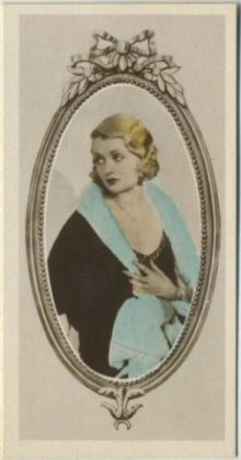 Constance Bennett 1934 Godfrey Phillips tobacco card