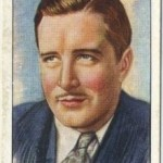 John Boles 1934 Player Film Stars Tobacco Card